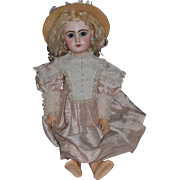 Antique Doll French Closed Mouth TeTe Jumeau Bisque Gorgeous Doll