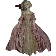 Old Doll Unusual Boudoir Fancy Clothing