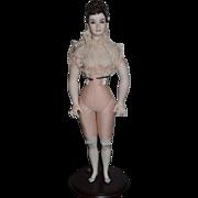 Artist Doll Bisque Fawn Zeller UFDC Stunning Bisque Doll