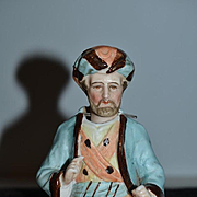 Old Doll Bisque Nodder Figurine Wonderful