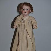 Antique Doll Baby Hilda Character Kestner 245 In Old Clothing
