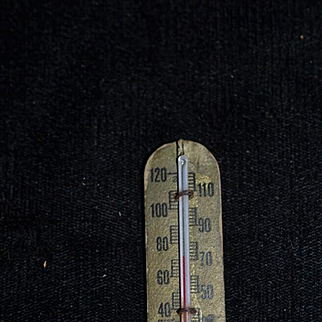 Old Miniature Doll Thermometer For Dollhouse