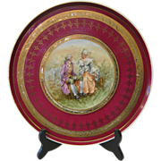 Vintage Royal Vienna plate
