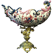 Austrian-Hungarian Porcelain Compote