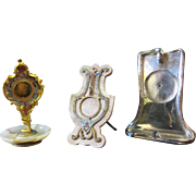Vintage Pocket Watch Holders (3)