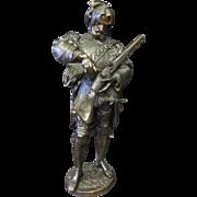 Bronze Gun Bearing Courtier