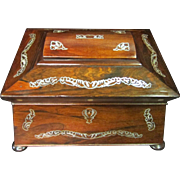 Vintage Victorian Trinket Box