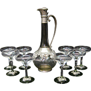 Vintage Continental Decanter Set