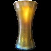 Aurene Vase, signed