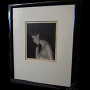 Vintage Framed Nude Photographs by Samuel Bernard Schaeffer