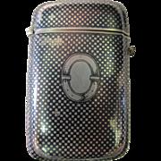 Vintage Russian Cigarette Case