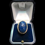 Lapis lazuli 14K Ring (1970's)