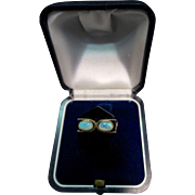 Modern Opal/Onyx & Gold Ring, 1970's
