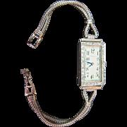 Vintage Tiffany & Co. Art Deco Ladies Wrist Watch