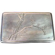 Vintage Chinese Silver Trinket Box