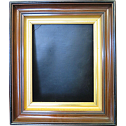 Vintage Walnut Picture Frame