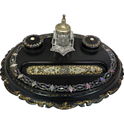 Vintage Victorian Master Inkwell