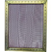 Vintage Brass Photo Frame