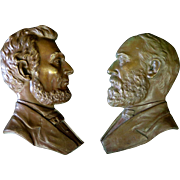 Civil War Bronze Profiles