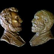 Civil War Bronze Profiles