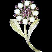 Vintage 1940's Flower Pin