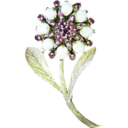 Vintage 1940's Flower Pin