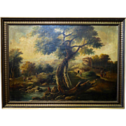 Early 20th Century Oil Painting, unsigned