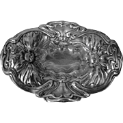 Vintage Sterling Silver Pin Tray