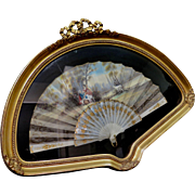 Vintage Early 20th Century French Fan