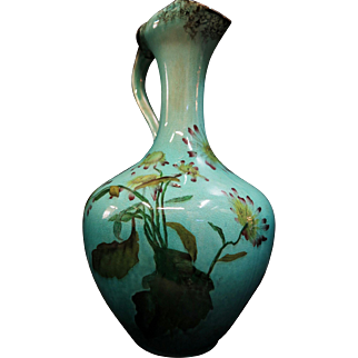 Vintage Early 20th Century English Pottery Ewer