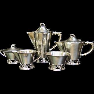 Vintage American Sterling Silver Tea/Coffee Service
