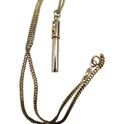 Vintage 14K Gold Fountain Pen Pendant