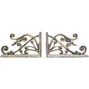 Vintage Wrought Iron Garden Accents