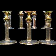 Vintage Moser Goblets