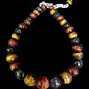 Vintage Tiger's Eye Necklace