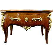 "Miniature French Majolica & More' Bronze Commode ""Box"""