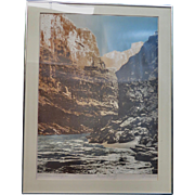 Havasu Canyon Trial Proof Print, signed P. Crane