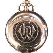 German 14K Gold Pocket Watch