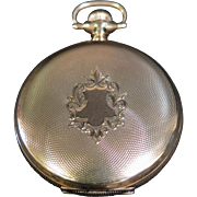 Vintage  14K Gold Waltham Pocket Watch