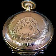 Vintage Waltham Gold Filled Pocket Watch