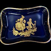 Vintage Limoges Vanity Pin Tray