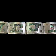 """Vintage Mexican """"TAXCO"""" Designer Bracelet"""