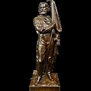 Vintage Italian Bronze of Garabalde