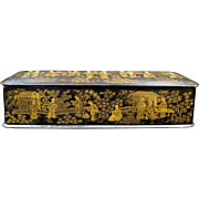 "Chinese ""Inspired"" Lacquer Box"