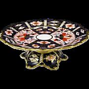 Royal Crown Derby #2451 Traditional Imari Bone China Compote