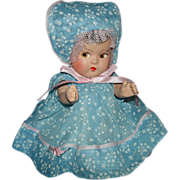 Dionne Quintuplet Type Composition Baby Crispy in Christmas Box 1930s