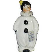 Pierrot Clown Figural Perfume Bottle Art Deco Japan
