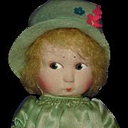 Early La Venus Cloth Doll France 1920s