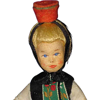 Erna Meyer Dollhouse Hessen Region Doll 1950s Germany