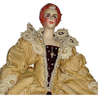 Mary Branca Tudor Queen Elizabeth Art Historical Doll 1940s